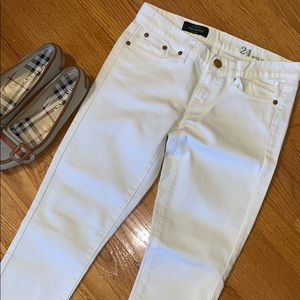 J Crew The Toothpick Super skinny ankle jeans NWOT